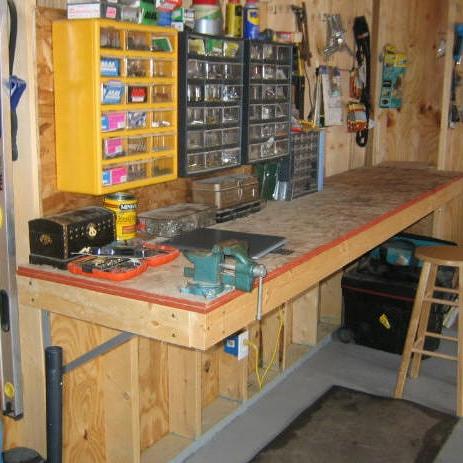 Своими руками планировка в гараже