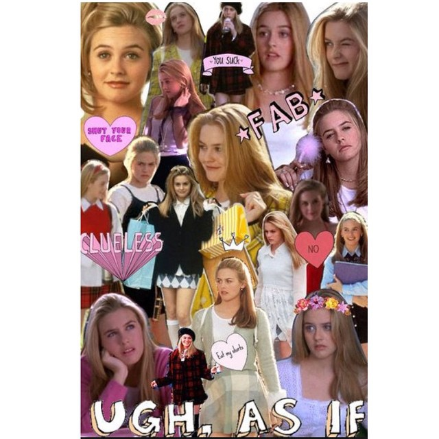 Clueless tumblr collage