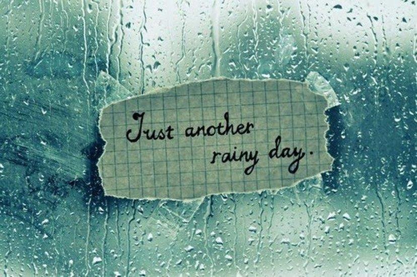 essay topic rainy day