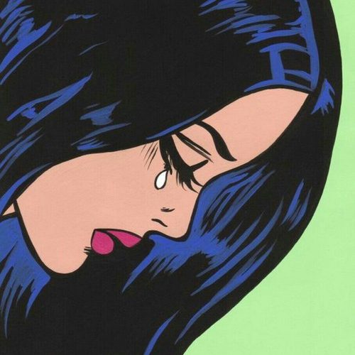 Crying cartoon girl tumblr